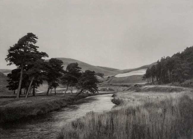 E. O. Hoppé (British, born Germany 1878-1972) 'Near Peebles, Scotland' 1926