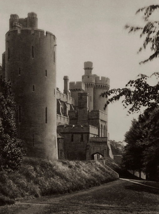 E. O. Hoppé (British, born Germany 1878-1972) 'Arundel Castle, Sussex' 1926