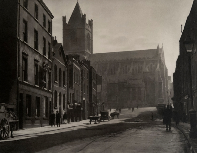 E. O. Hoppé (British, born Germany 1878-1972) 'Christchurch, Dublin, Ireland' 1926
