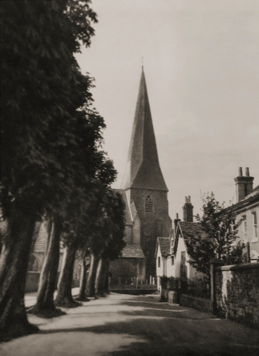 E. O. Hoppé (British, born Germany 1878-1972) 'Horsham Church, Sussex' 1926