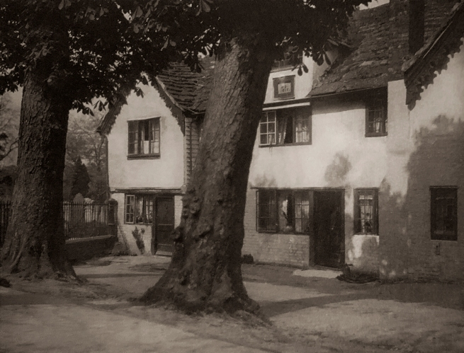 E. O. Hoppé (British, born Germany 1878-1972) 'Old Houses Horsham, Sussex' 1926
