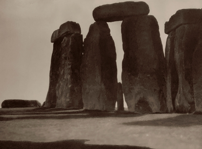 E. O. Hoppé (British, born Germany 1878-1972) 'Stonehenge, Salisbury Plain' 1926