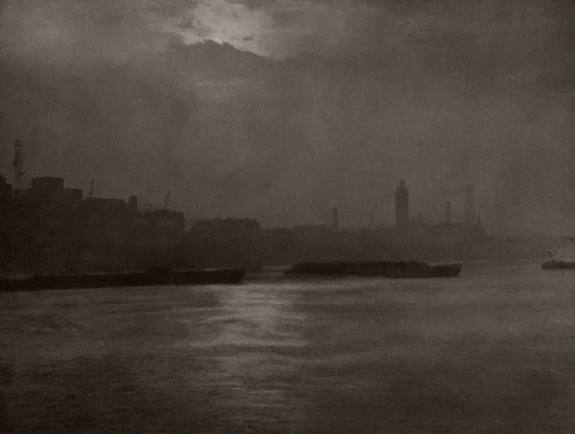 E. O. Hoppé (British, born Germany 1878-1972) 'The Thames at Blackfriars, London' 1926