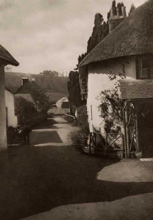E. O. Hoppé (British, born Germany 1878-1972) 'Porlock, Somerset' 1926