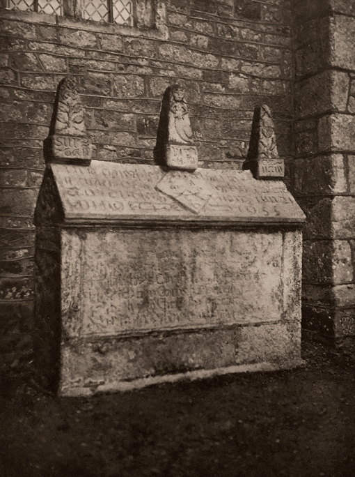 E. O. Hoppé (British, born Germany 1878-1972) 'Ancient Tomb, Bovey Tracey, Devonshire' 1926