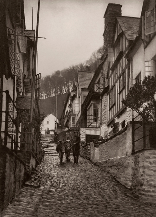 E. O. Hoppé (British, born Germany 1878-1972) 'High Street in Clovelly, Devonshire' 1926