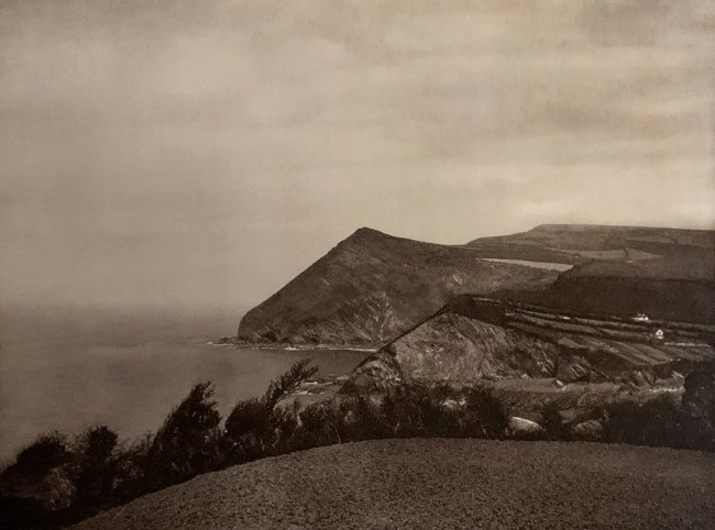 E. O. Hoppé (British, born Germany 1878-1972) 'The Cliffs near Ilfracombe, Devonshire' 1926