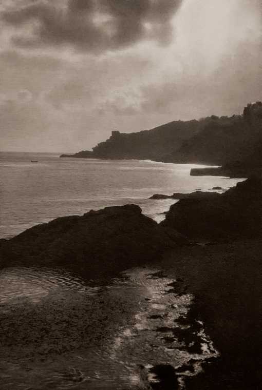 E. O. Hoppé (British, born Germany 1878-1972) 'Coast at Fowey, Cornwall' 1926