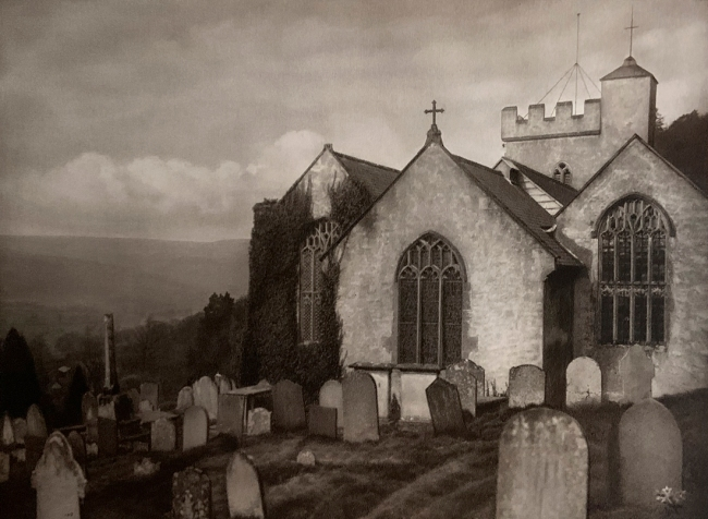 E. O. Hoppé (British, born Germany 1878-1972) 'Selworthy Church, Selworthy, Somerset' 1926