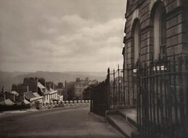 E. O. Hoppé (British, born Germany 1878-1972) 'Cambden Crescent in Bath, Somerset' 1926
