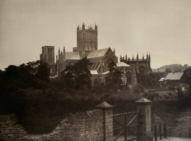 E. O. Hoppé (British, born Germany 1878-1972) 'Wells Cathedral, Somerset' 1926