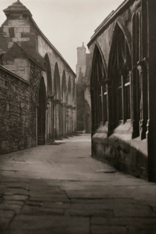 E. O. Hoppé (British, born Germany 1878-1972) 'Approach to Cloisters, Gloucester Cathedral' 1926