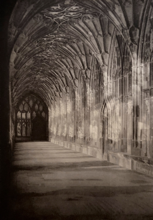 E. O. Hoppé (British, born Germany 1878-1972) 'The Cloisters, Gloucester Cathedral, Gloucestershire' 1926