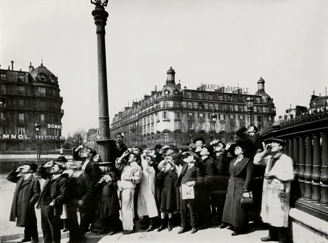 Eugène Atget (French, 1857-1927) 'L'éclipse' April 1912 (installation view)