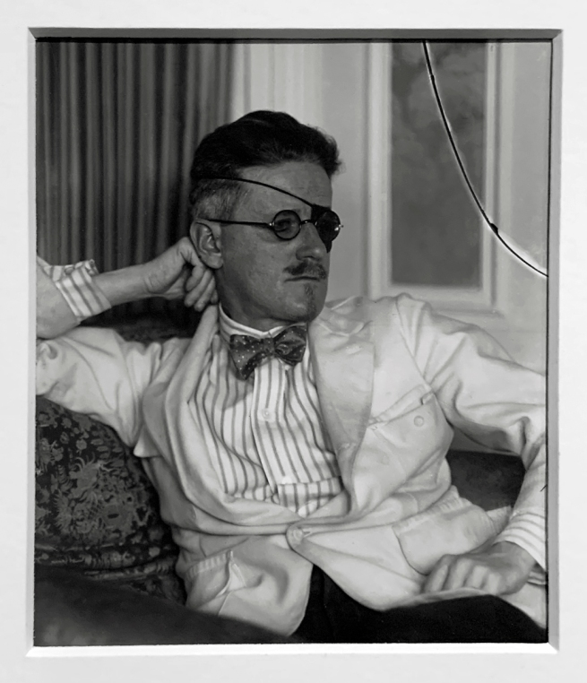 Berenice Abbott (American, 1898-1991) James Joyce, Paris 1920 (installation view)