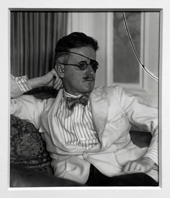 Berenice Abbott (American, 1898-1991) James Joyce, Paris 1920 (installation view)