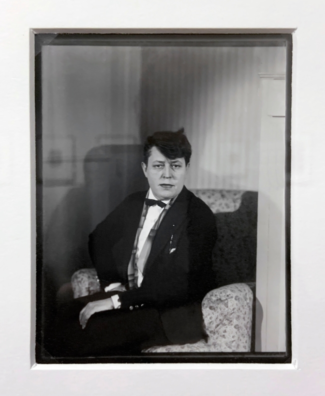Berenice Abbott (American, 1898-1991) 'Jane Heap' 1929-1931 (installation view)