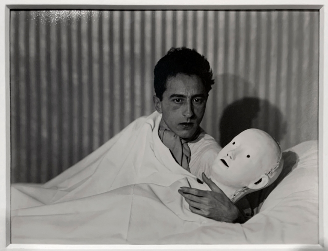 Berenice Abbott (American, 1898-1991) 'Jean Cocteau' 1927 (installation view)
