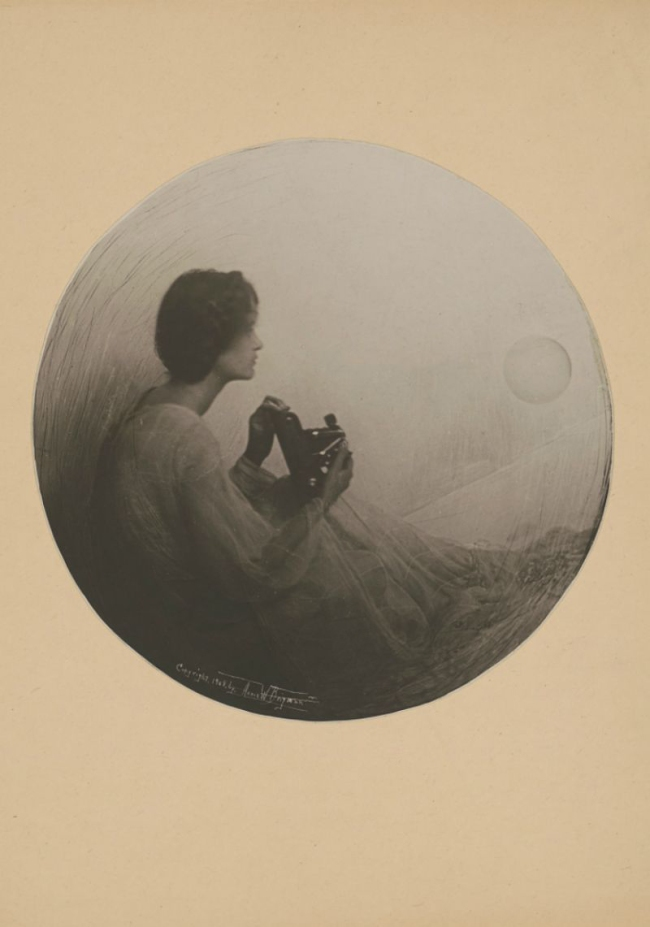 Annie Wardrope Brigman (American, 1869-1950) 'The Spirit of Photography' c. 1908