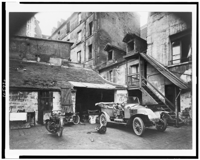 Eugène Atget (French, 1857-1927) 'Courtyard, 7 Rue de Valence, 5th arr.' June 1922