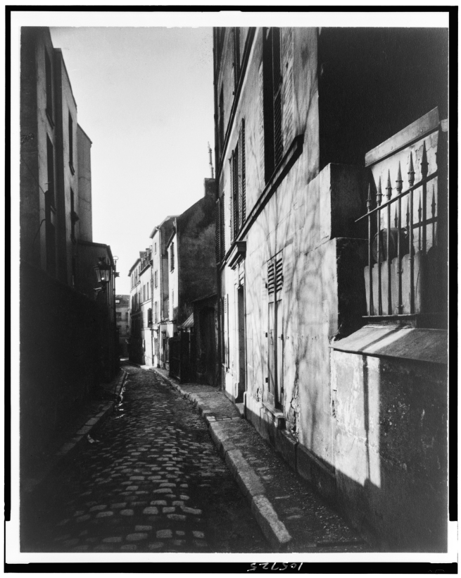 Eugène Atget (French, 1857-1927) 'Rue St. Rustique' March 1922