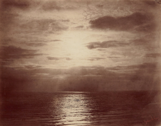 Gustave Le Gray (French, 1820-84) 'Solar Effect in the Clouds – Ocean' 1856-59
