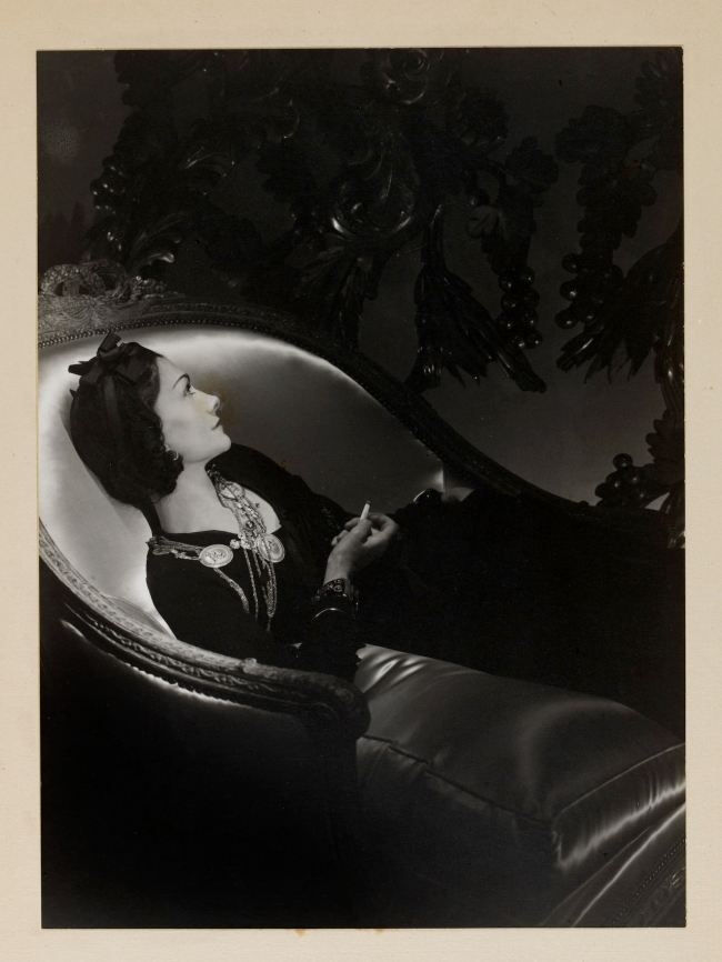 Horst P. Horst (German-American, 1906-1999) 'Portrait of Gabrielle ('Coco') Chanel' 1937