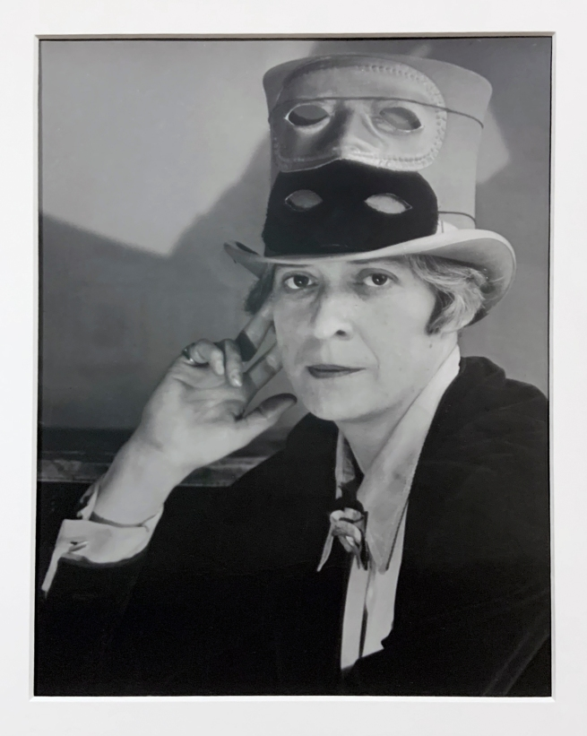 Berenice Abbott (American, 1898-1991) 'Janet Flanner in Paris'1927 (installation view)