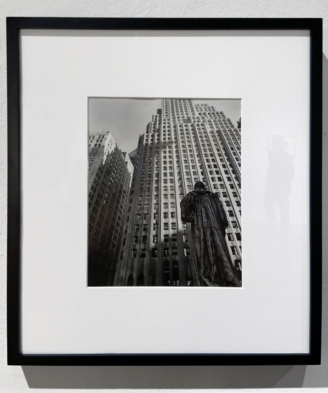 Berenice Abbott (American, 1898-1991) 'From Trinity Church Yard' March 1, 1938 (installation view)