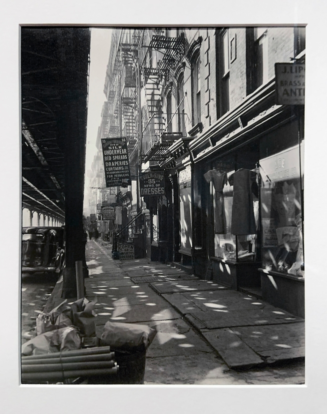 Installation view of the exhibition Berenice Abbott: Portraits of Modernity at Huis Marseille, Amsterdam