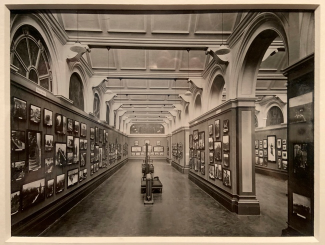 Unknown photographer. 'Photograph of Allied War exhibition, Serbian Section, V&A' 1917