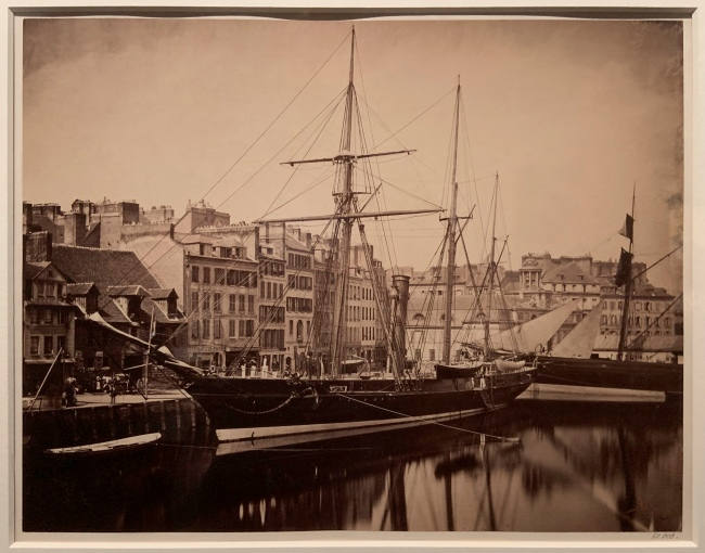 Gustave Le Gray (French, 1820-84) 'The Imperial Yacht, La Reine Hortense, Le Havre' 1856-57