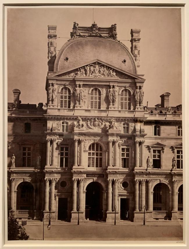 Gustave Le Gray (French, 1820-84) 'Pavilion Richelieu, Louvre, Paris' 1857-59