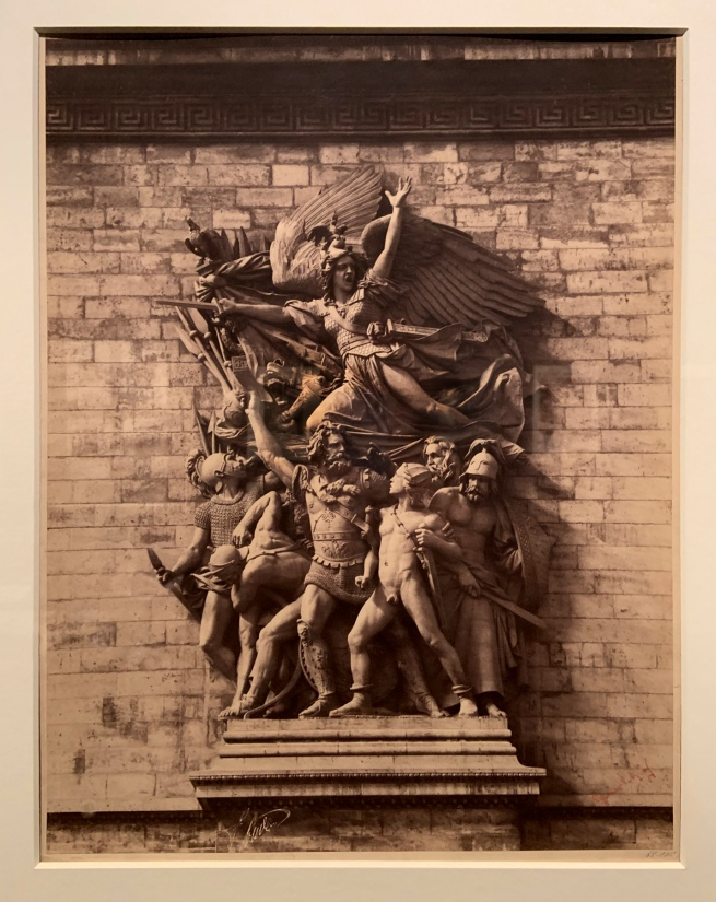 Gustave Le Gray (French, 1820-84) 'The Marseillaise (The Departure of the Volunteers of 1792), by Francois Rude, 1833-35, Arc de Triomphe de l'Etoile, Paris' 1852