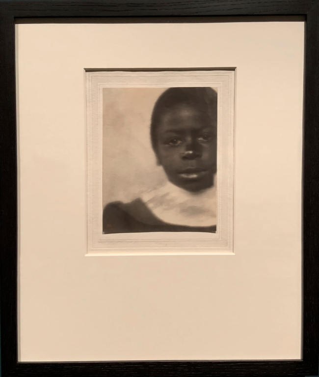 Fredrick Holland Day (American, 1864-1933) 'Head of a Girl, Hampton, Virginia' 1905