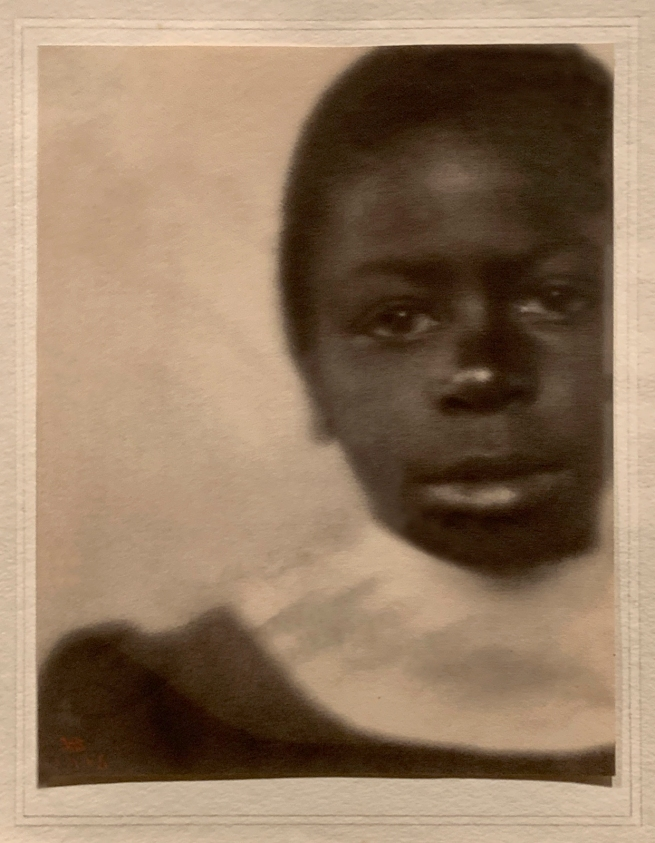 Fredrick Holland Day (American, 1864-1933) 'Head of a Girl, Hampton, Virginia' 1905