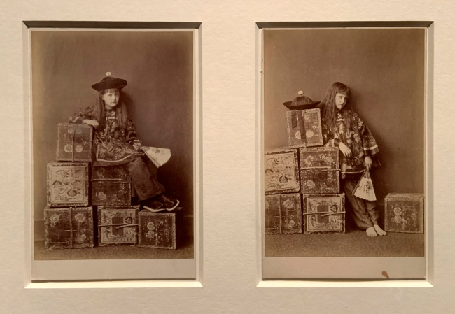 Charles Lutwide Dodgson (also known as Lewis Carroll)(British, 1832-98) 'Tea Merchant (On Duty)' and 'Tea Merchant (Off Duty)' 1873