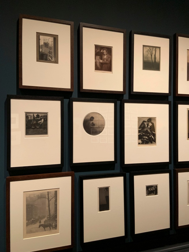 Installation view of the V&A Photography Centre, London