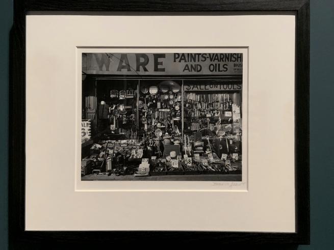 Berenice Abbott (American, 1898-1991) 'Hardware Store' 1938