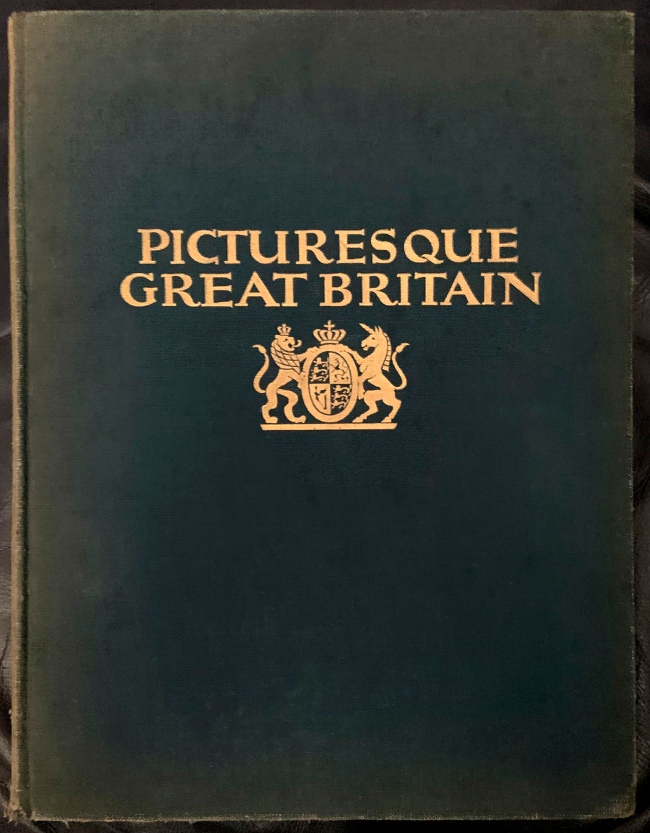 E. O. Hoppé (British, born Germany 1878-1972) 'Picturesque Great Britain: Its Architecture and Landscape cover' 1926