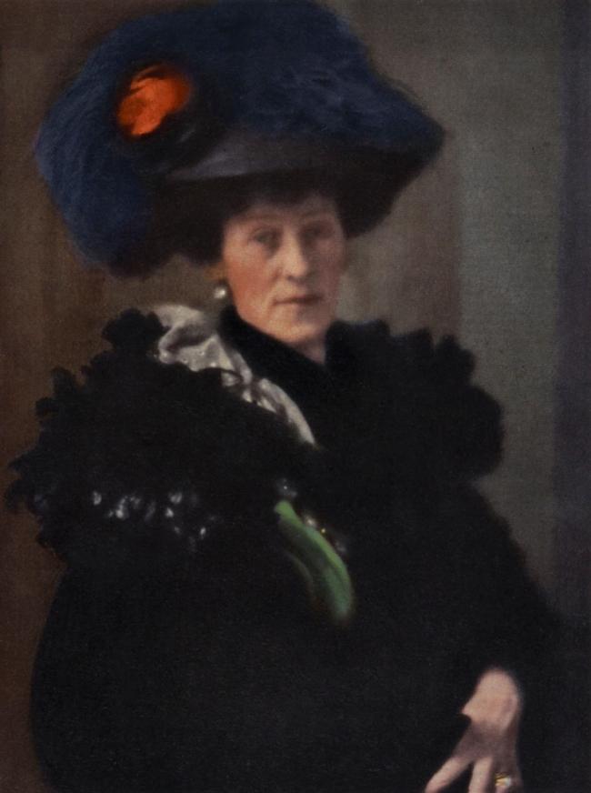 Edward Steichen (American, 1879-1973) 'Portrait – Lady H' 1908