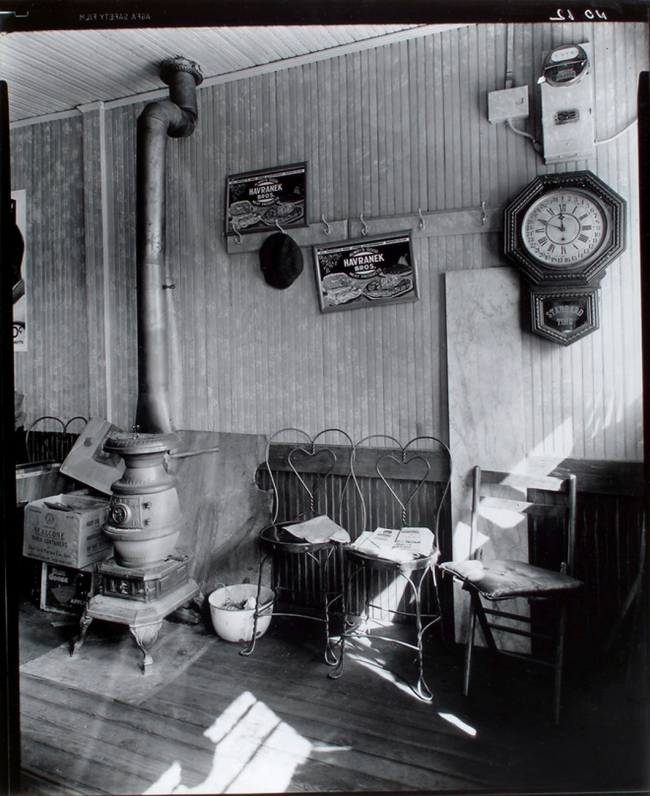 Berenice Abbott (American, 1898-1991) 'Country Store Interior' October 11, 1935
