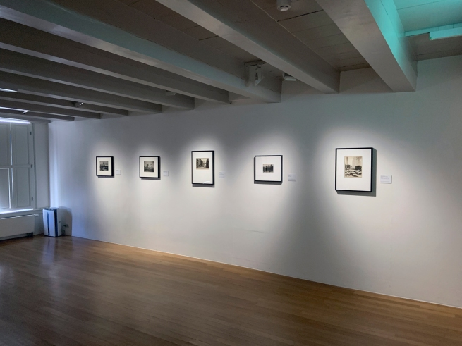 Installation view of the exhibition 'Berenice Abbott: Portraits of Modernity' at Huis Marseille, Amsterdam