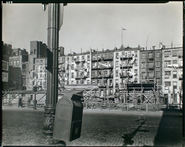 Berenice Abbott (American, 1898-1991) 'Old Law Tenements, 35-47 East 1st Street' February 11, 1937