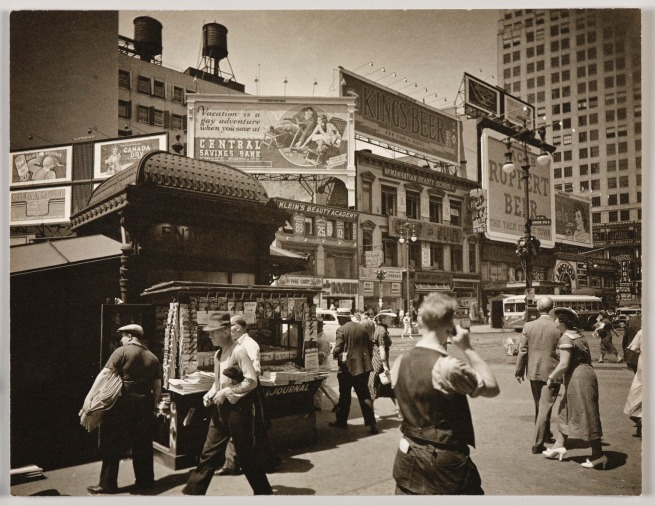 Berenice Abbott (American, 1898-1991) 'Union Square' July 16, 1936