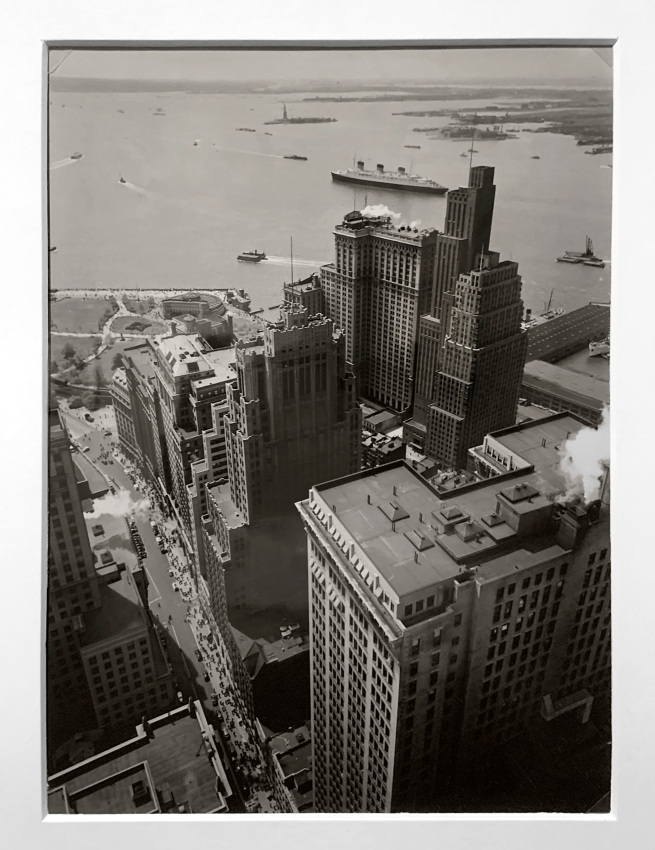 Berenice Abbott (American, 1898-1991) 'New York Harbour' 1938 (installation view)