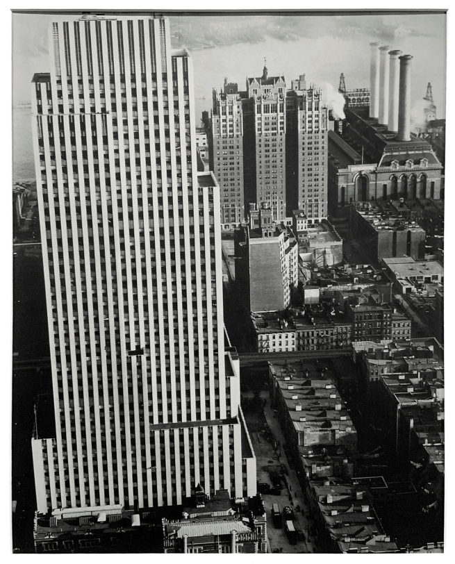 Berenice Abbott (American, 1898-1991) 'Daily News Building, 42nd Street between 2nd and 3rd Avenues, Manhattan' 1935 (installation view)