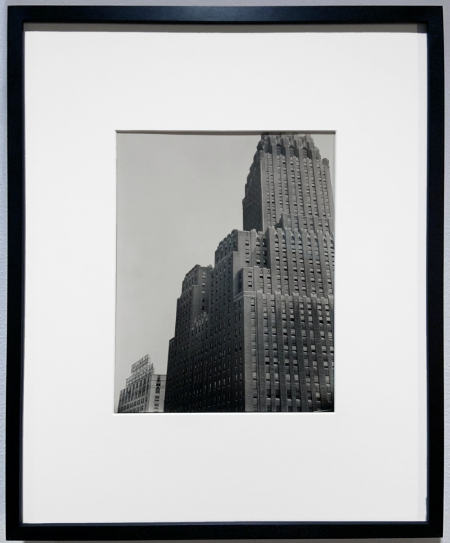 Berenice Abbott (American, 1898-1991) 'New York Telephone Company Building, 140 West Street, Manhattan' 1936 (installation view)