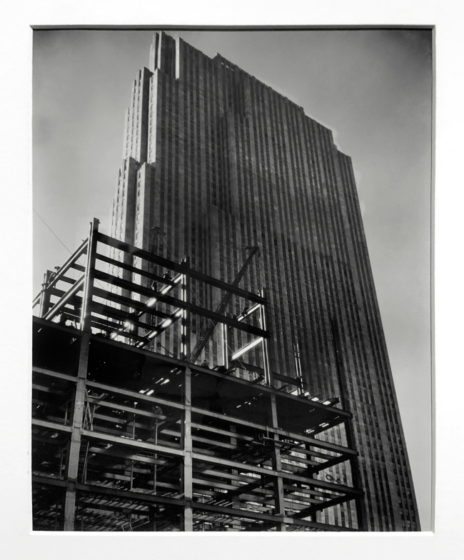 Berenice Abbott (American, 1898-1991) 'R.C.A. building' c. 1932 (installation view)