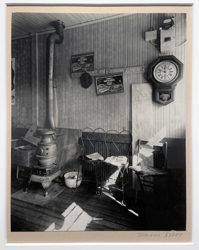 Berenice Abbott (American, 1898-1991) 'Country Store Interior' October 11, 1935 (installation view)